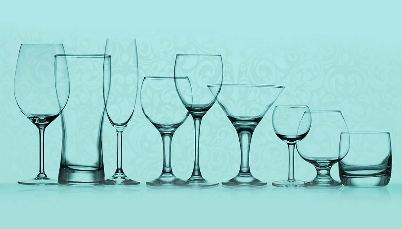 Saiba usar o copo certo para cada ocasião.