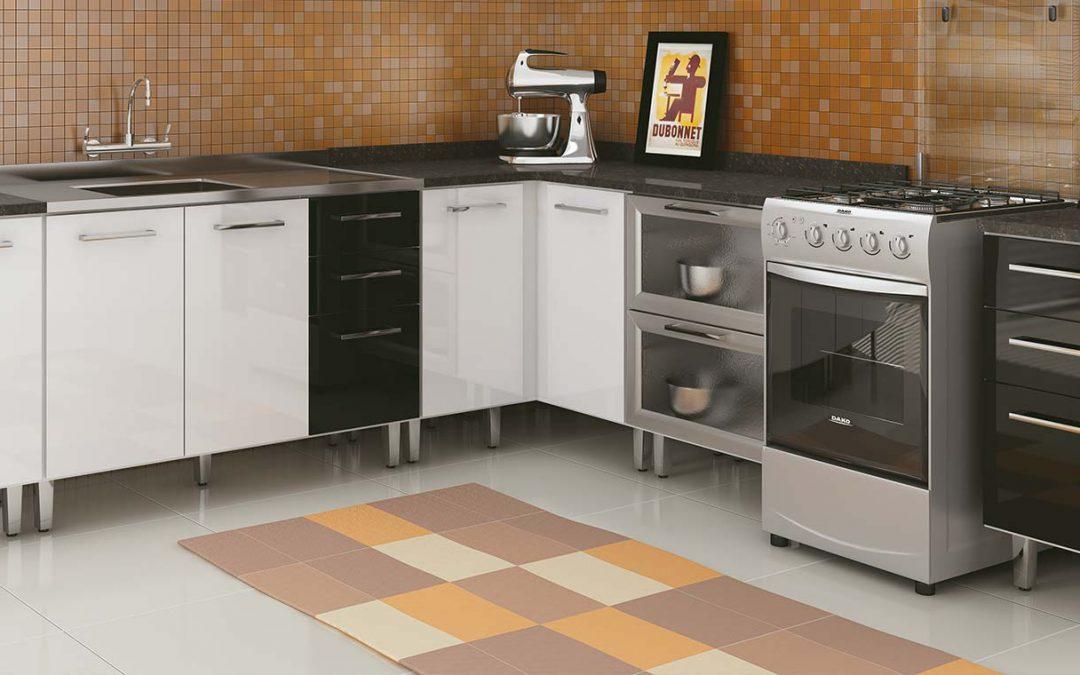 Cuidados na escolha de piso, bancada, azulejo e torneira.
