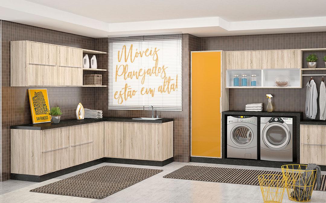 Móveis Planejados valorizam e aproveitam melhor os espaços!