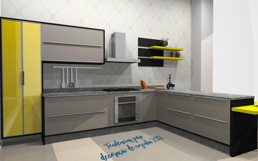 Tendências para decoração de cozinha 2018 [Parte I]